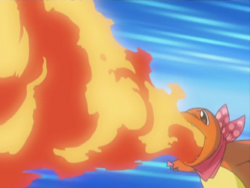 Team Go-Getters Charmander Flamethrower