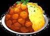감자 듬뿍 카레 포켓몬 대