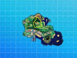 Alola Iki Town Map