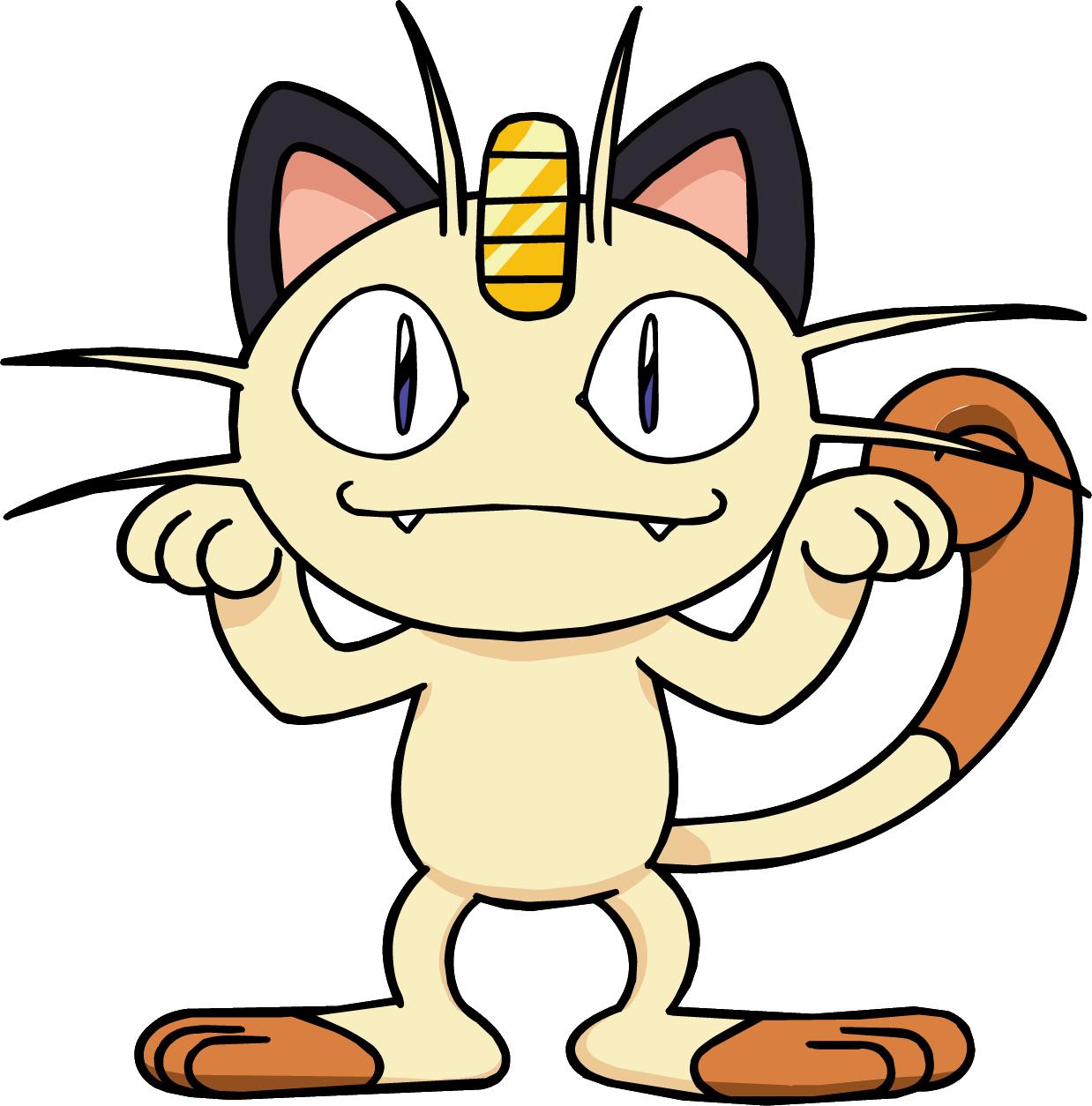Risultati immagini per meow pokemon