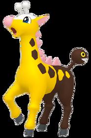 203Girafarig Pokémon HOME