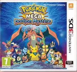 Jaquette Française Pokémon Méga Donjon Mystère