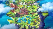 Pokemon Sword & Shield Galar Region