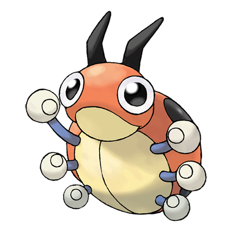 Ledyba Pokémon Wiki Fandom Powered By Wikia