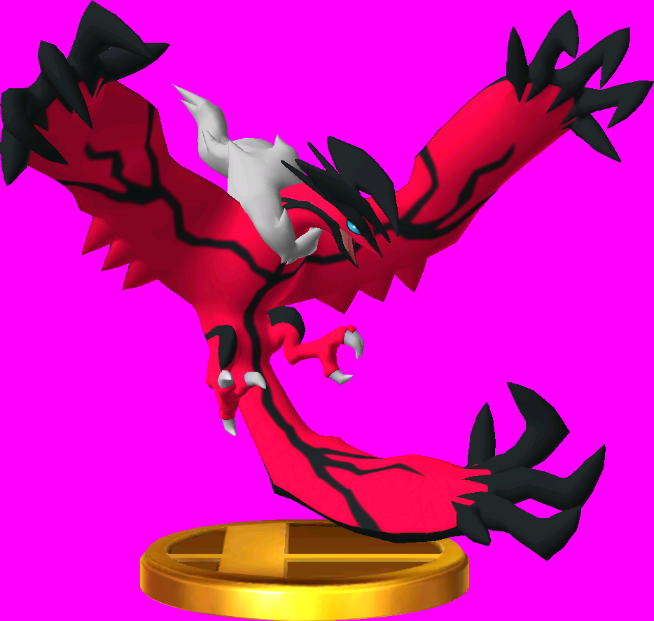 Yveltal trophy SSB3DS