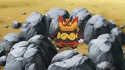 암석봉인으로 갇친 염무왕