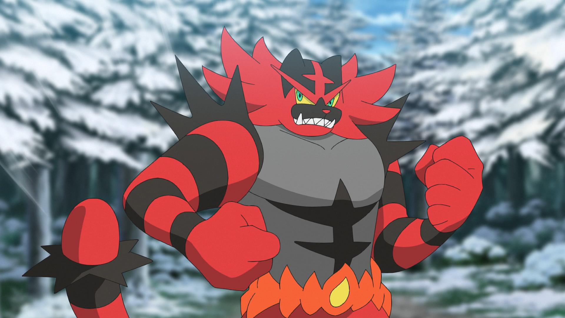 Ash Incineroar