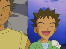 Jonge Brock met zijn Vader