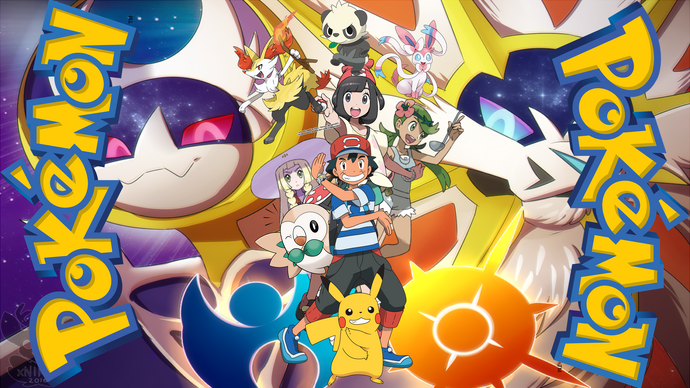 Pokemon Sun and Moon Poster2