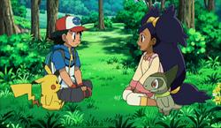 Ash en Iris aan het begin van de best whises serie