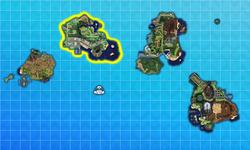 Alola Melemele Island Map