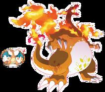 Pokemon gcharizard 2x3