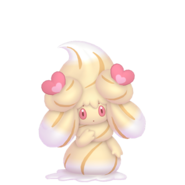 869Alcremie Caramel Swirl Love Sweet Pokémon HOME