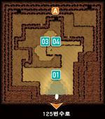 ORAS 여울의 동굴 썰물 입구방