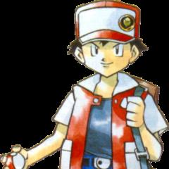 Концепт-арт Реда для Pokemon Red and Blue