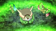 Chesnaught, Honedge and Doublade being revived