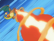 Clark Charizard Flamethrower