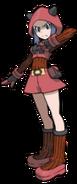 Female Team Magma Member