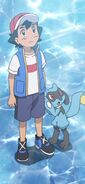 Ash & Riolu