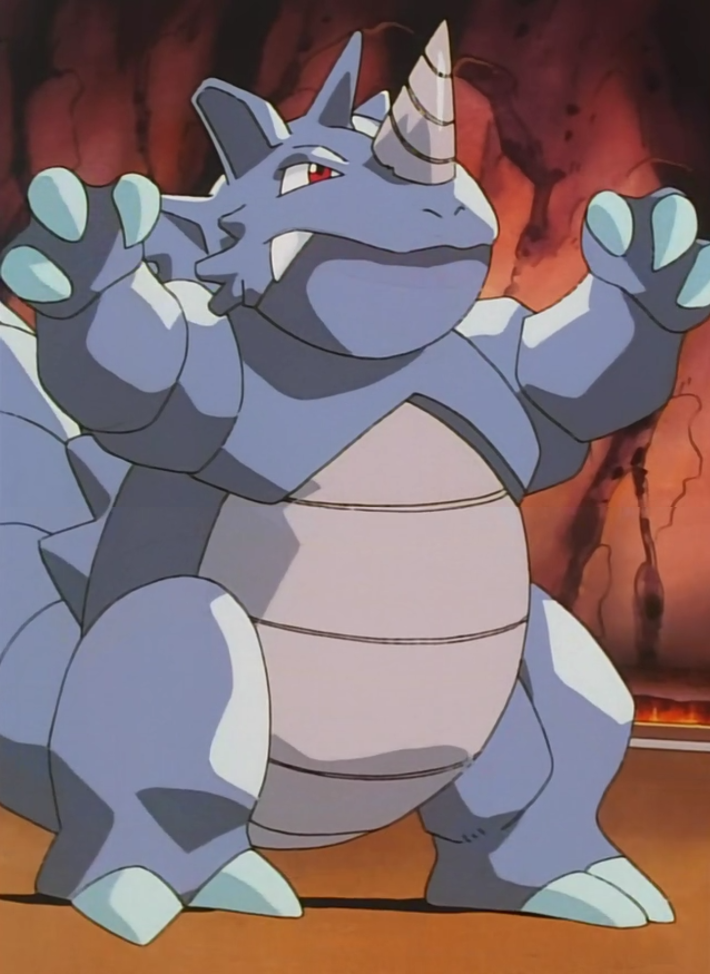 Blaines Rhydon Pokémon Wiki Fandom Powered By Wikia