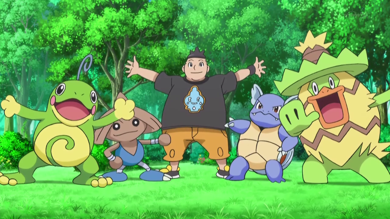 Tierno's latest Pokémon team.
