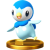 Piplup trophy SSBWU