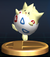 Togepi trophy SSBB