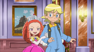 Clemont en Prinses Allie