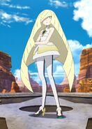 Lusamine Anime Appearance