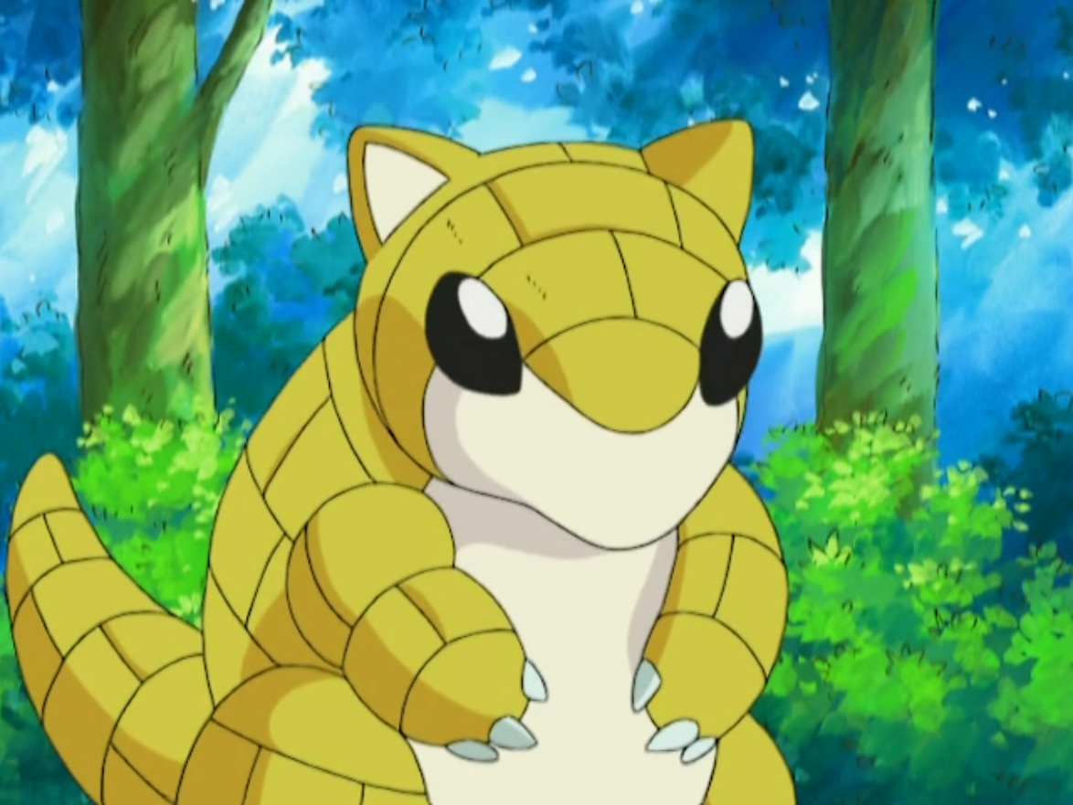 Image result for pokemon tv show sandshrew