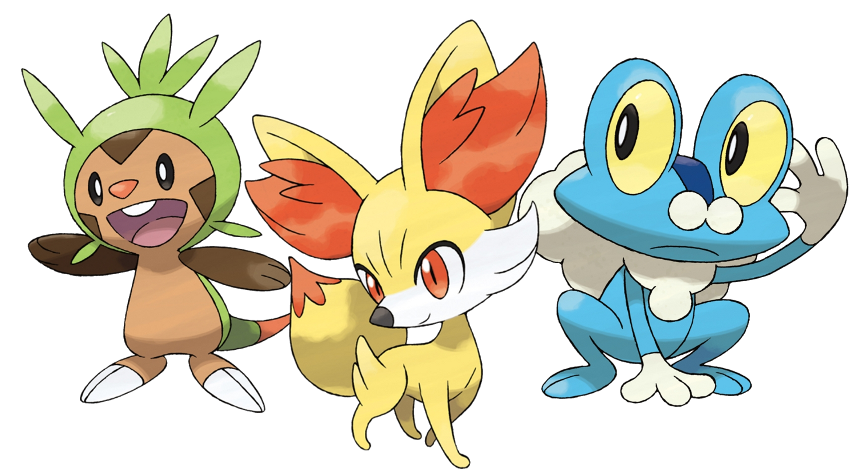 kalos starter pokémon pokémon wiki fandom powered by wikia