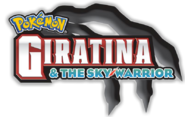 Pokemon Giratina and the Sky Warrior logo