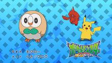 Rowlett- Who's That Pokémon