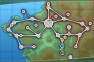 Kalos Lumiose City Map