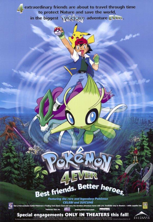 Ms004 Pokemon 4ever Celebi Voice Of The Forest Pokemon Wiki
