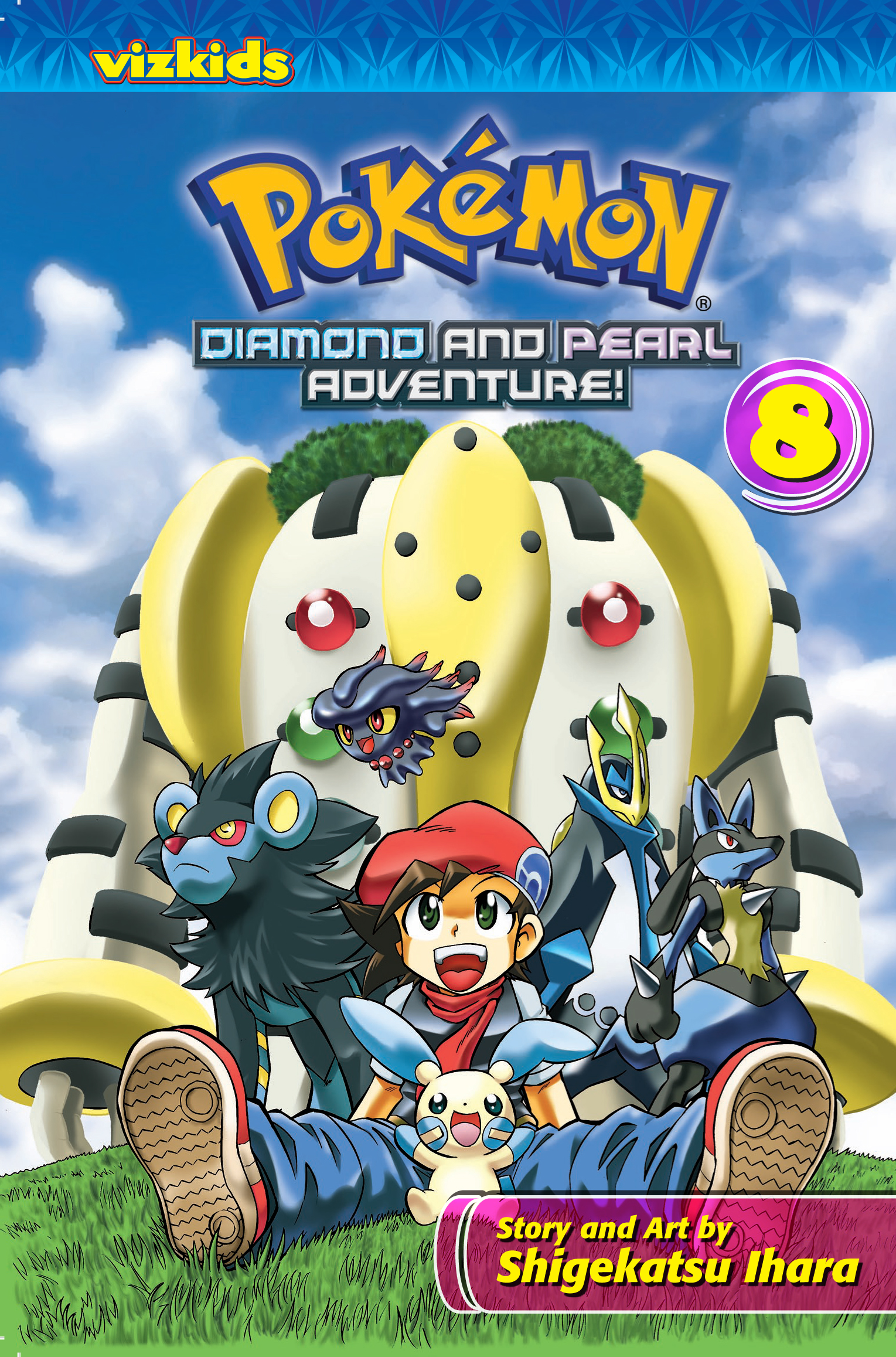 pokémon diamond and pearl adventure!: volume 8 | pokémon wiki