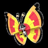 666Vivillon Sun Pattern Pokémon HOME