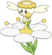 669Flabébé White Flower XY anime