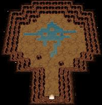 ORAS 미지의 동굴 내부