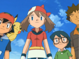 RS121: Ash and May! Heated Battles In Hoenn!!