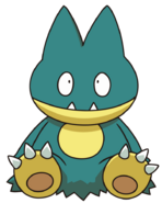 446Munchlax DP anime 6