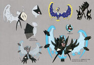 Necrozma Dawn Wings concept art