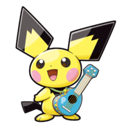 172Ukulele Pichu Pokemon Ranger Guardian Signs