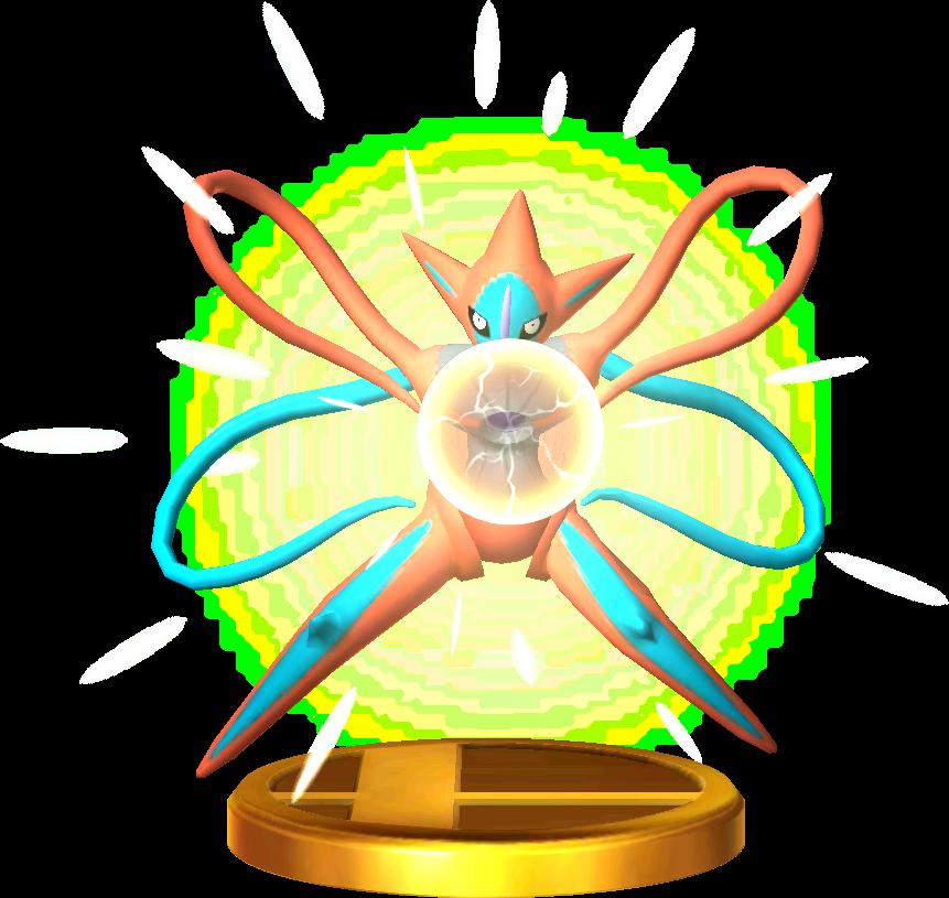 Deoxys trophy SSB3DS