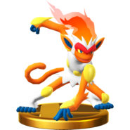 Infernape trophy SSBWU