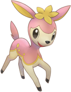 585Deerling Pokemon Super Mystery Dungeon