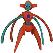 386Deoxys Pokemon PokéPark