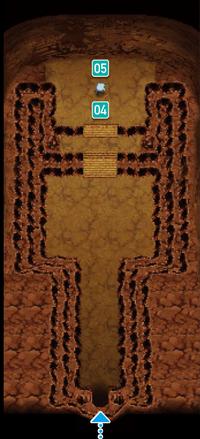 ORAS 바위동굴 성호가 있는 방