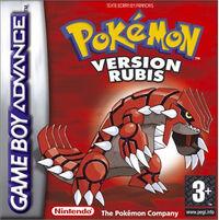 Pokémon Version Rubis Europe