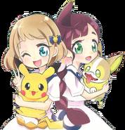 Chloe and Mika